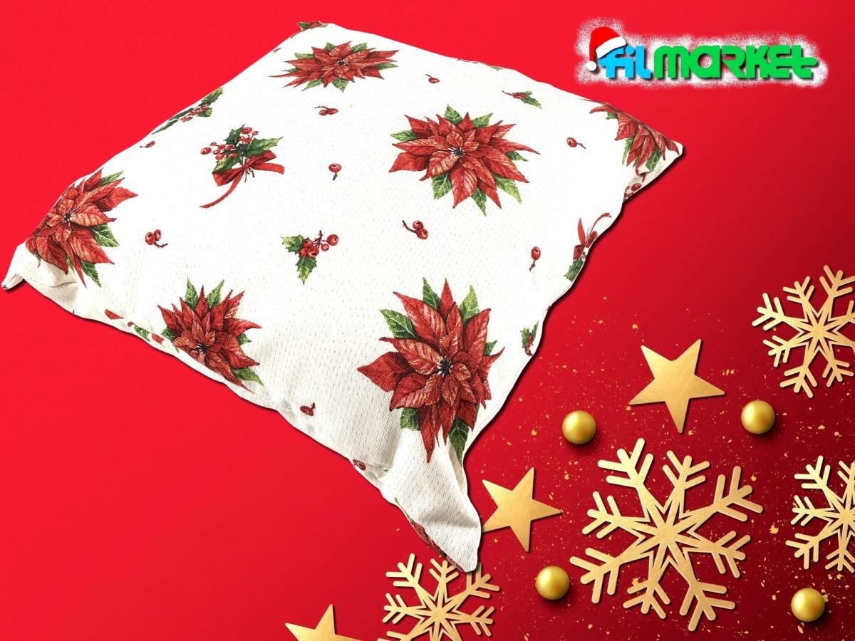 Cuscino Stella di Natale