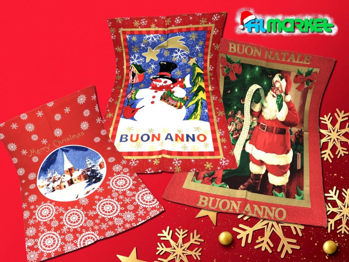 Strofinaccio Natale Poster